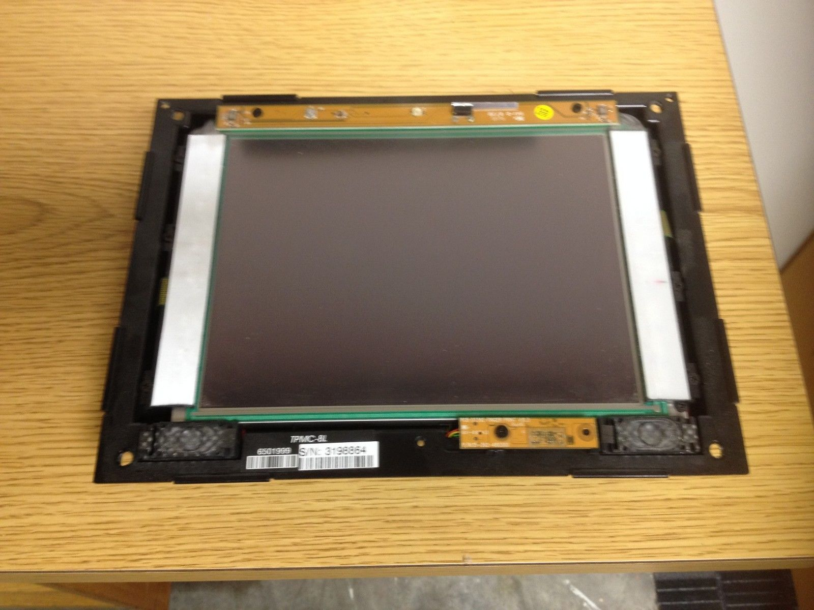 Crestron Tpmc 8l Isys 8 4 Wall Mount Touch Panel No Face