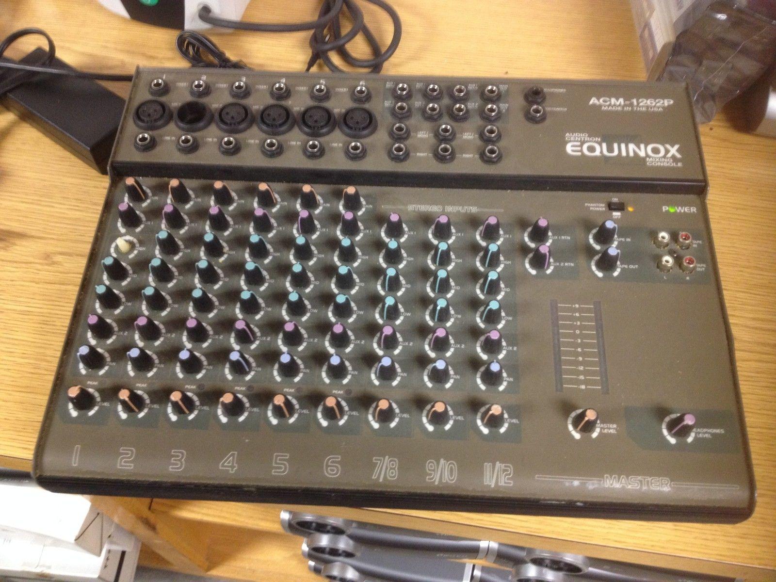 Equinox Mixer ACM-1262 Mixing Console