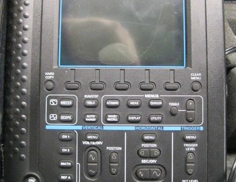 Tektronix THS730A Cable Tester THS-730A 200MHz Scope/ DMM Digital Real-Time