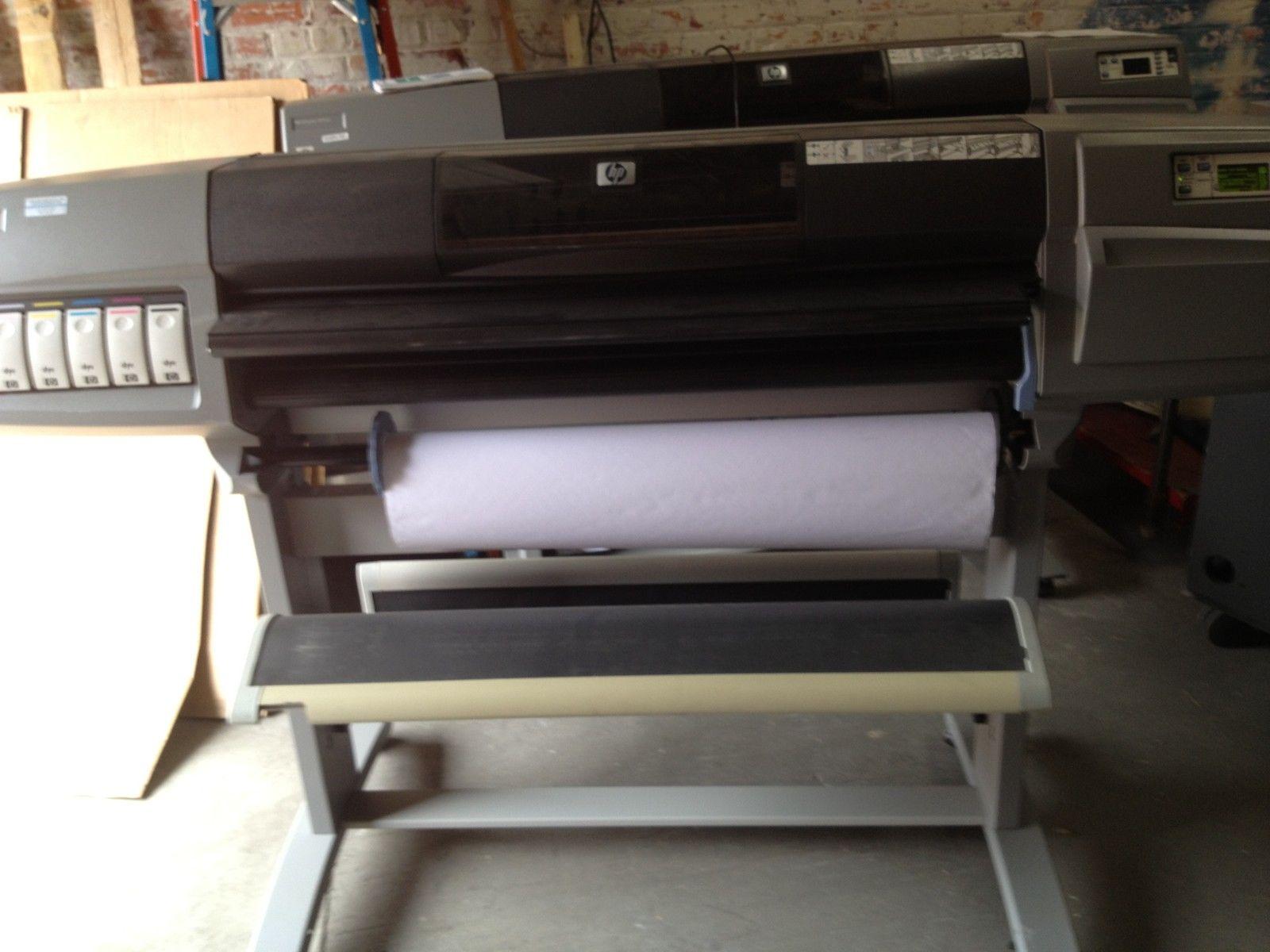 Hp Designjet 5500ps Digital Photo Inkjet Printer 42 In