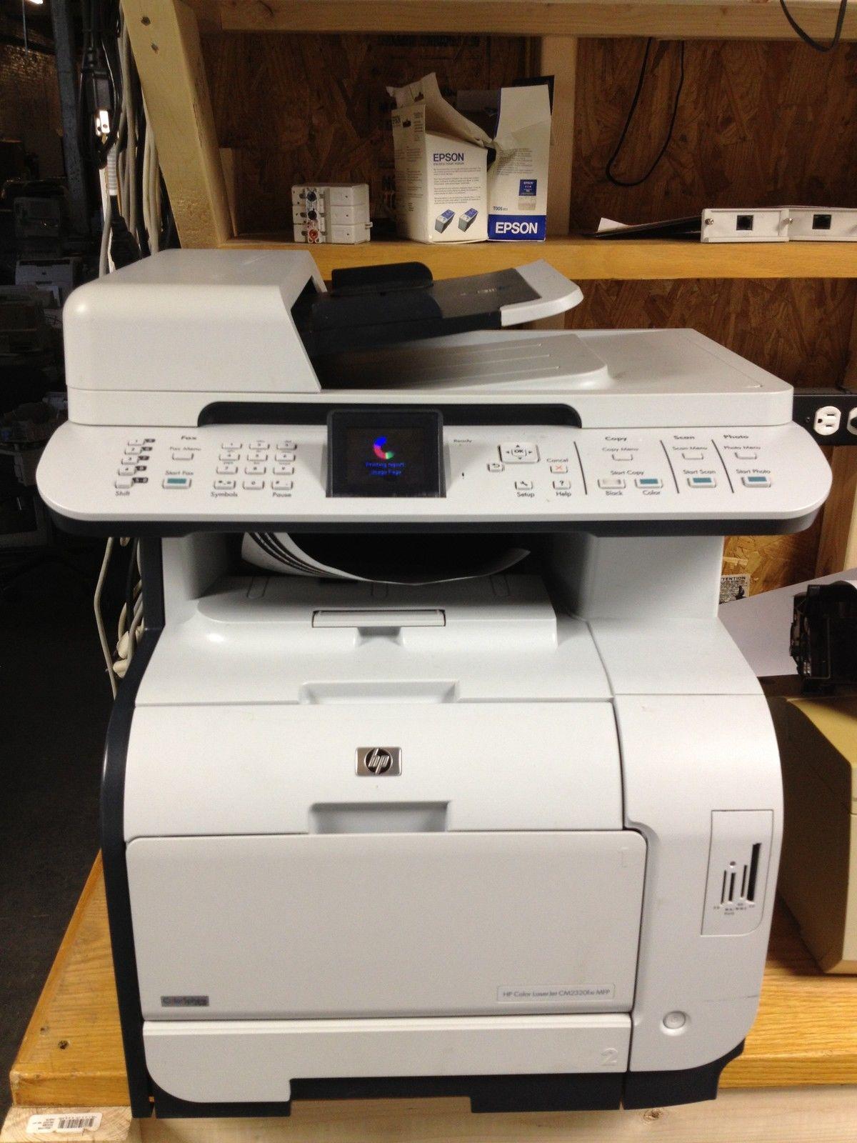 hp laserjet cm2320fxi mfp all in one laser printer with toners - Hp Color Laserjet Cm2320fxi Mfp