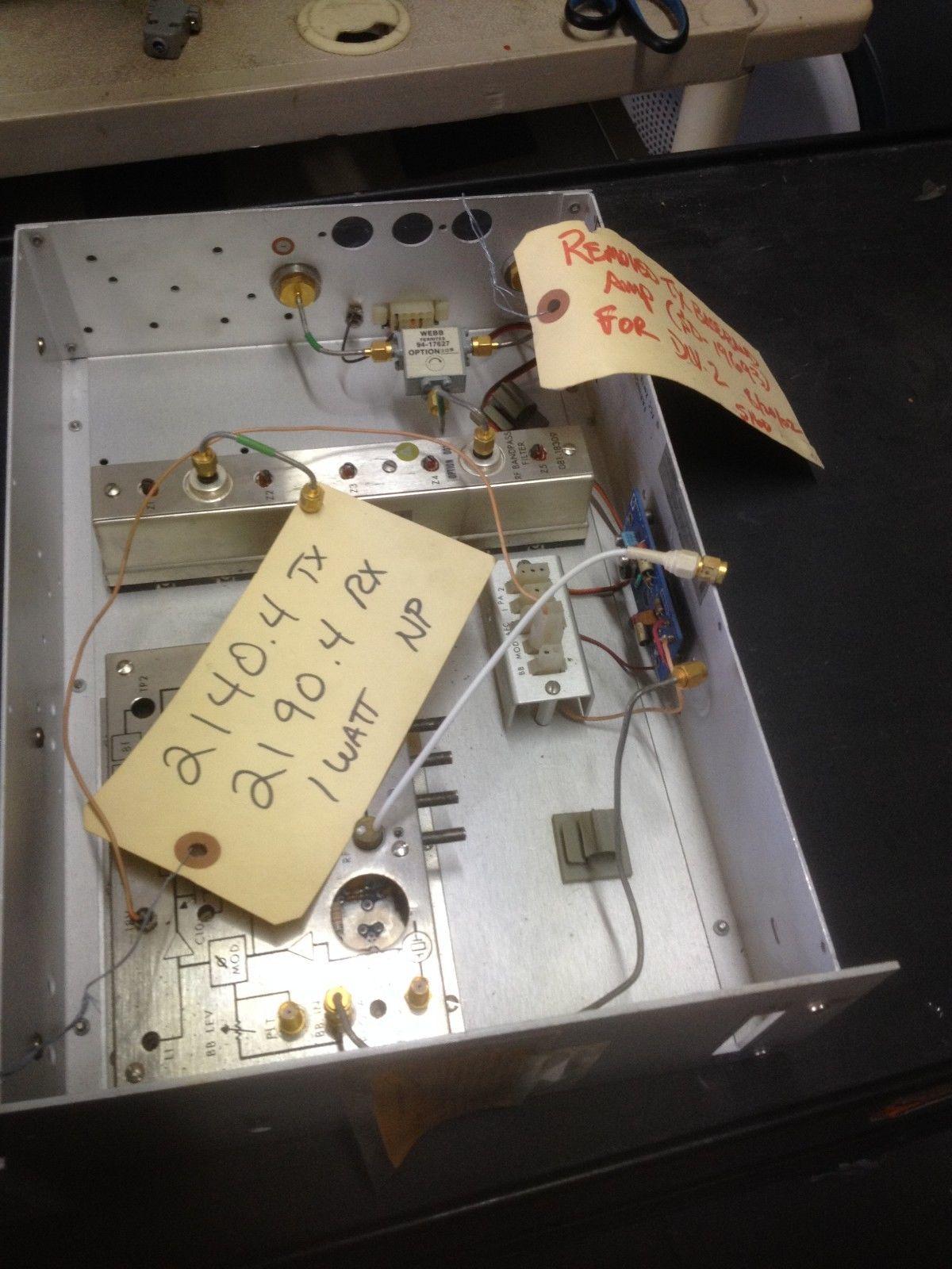 Harris Sd 19354 M2 Radio Microwave Transmitter Drawer