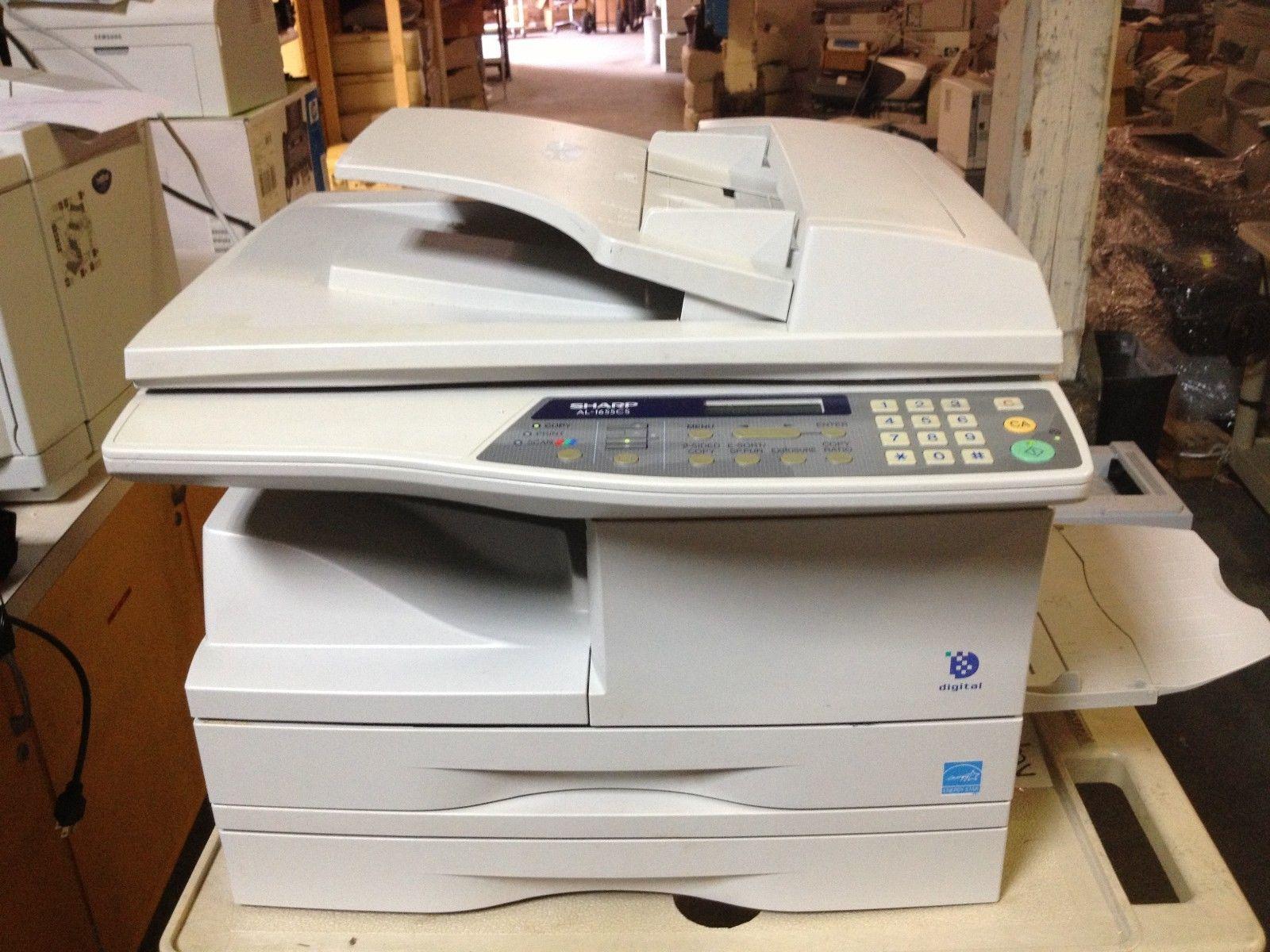 Sharp Al1655cs Multifunction Laser Printer Copy Print