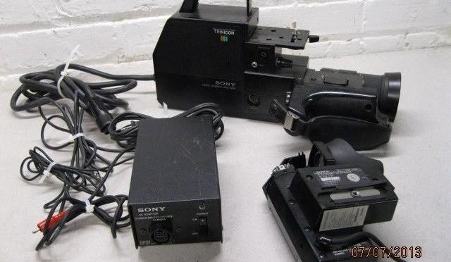 Sony HVC-2200 Video Camera 70mm lens Camcorder HVF-2000 Viewfinder