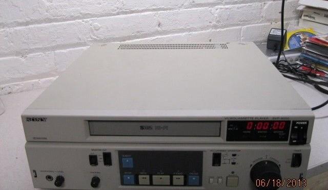 Sony SVP-9000 Video Cassette Recorder