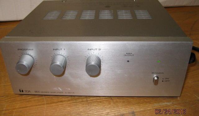 TOA 900 series Amplifier A-901A