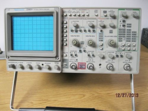 Tektronix Analog Oscilloscope : Tektronix a analog oscilloscope your usa