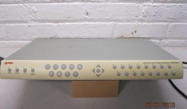 Ultrak KX1610CN 16 Channel Color Duplex Multiplexer