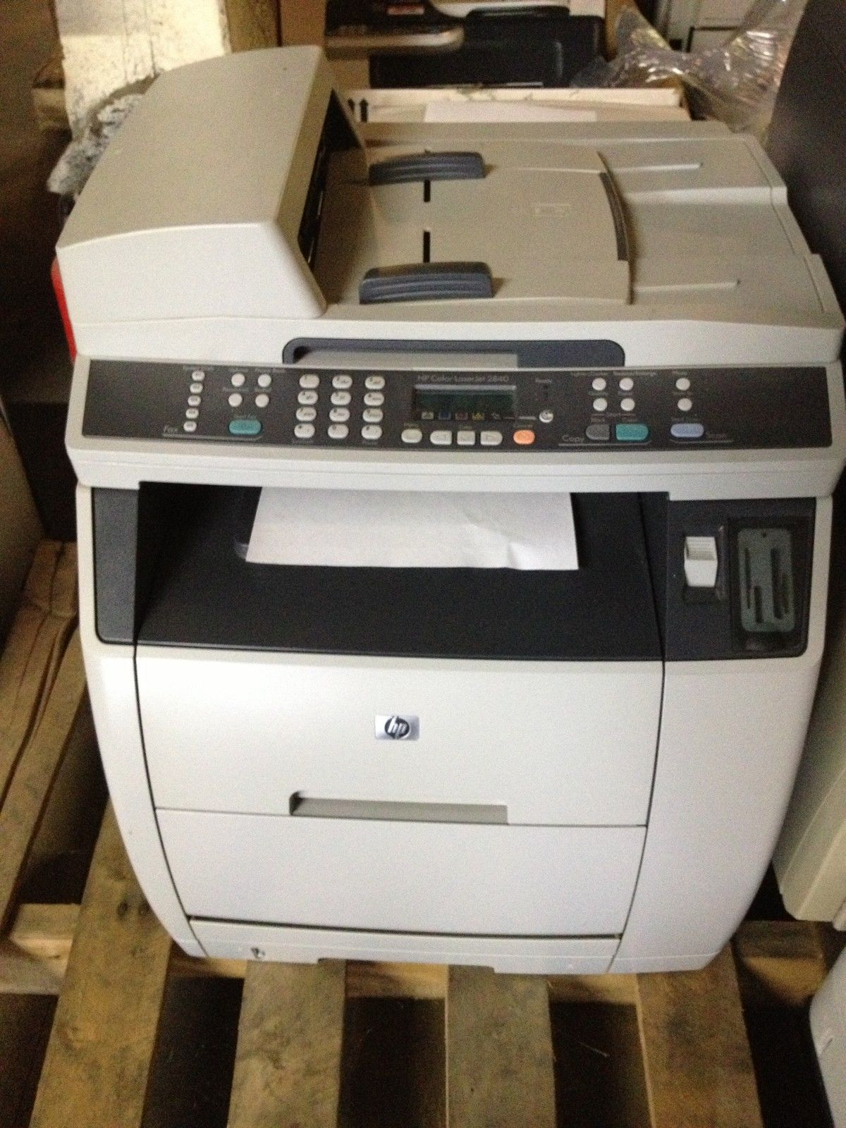 HP LaserJet 2840 All-In-One Laser Printer with USED Drum ...